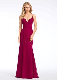 0bfa09af9d8 Hayley Paige Occasions bridesmaids dress - Azalea chiffon A-line bridesmaid  gown