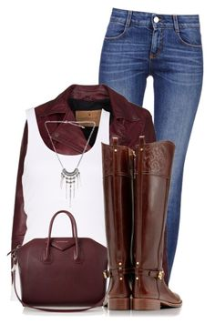 Untitled #1015 by lisamoran on Polyvore featuring Goosecraft, STELLA McCARTNEY, Tory Burch and Givenchy