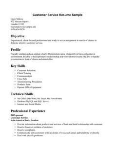 Customer Service And Sales Resume Cool Polly Harrison Dddmmh On Pinterest