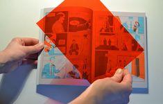 éditions polystyrène: polychromie Menu Layout, Restaurant Menu Design, Print Finishes, Layout Design, Illustration, Graphic Design, Projects, Polaroid, Editorial