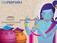 Digital Marketing Training Institute in Gurgaon - Digiperform Happy Janmashtami, Lord Krishna, Wish, Digital Marketing, Fans, Fandom