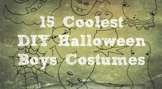 Halloween costume negotiations have begun with my boys. School-age boys want to look cool, but not like babies. To help all of us, I have compiled a list of Cool DIY Boys Halloween Costumes that range from easy to hard for school-age boys. Good luck and have fun!