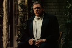 Little known fact: Luca Brasi froze and fumbled his lines in his opening scene. Hoping to take advantage of the misstep, Coppola later flip-flopped scenes so in his scene Luca is nervously practicing his lines while waiting to see the Don, implying that Corleone is the one man Brasi fears.