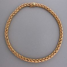 gorgeous... Tiffany gold wheat chain It really is lovely.