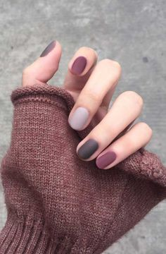 27 Chic Winter Nail Designs For Short Nails 3 – naildesing Classy Nail Designs, Winter Nail Designs, Diy Nail Designs, Short Nail Designs, Art Designs, Classy Nails, Stylish Nails, Trendy Nails, Short Gel Nails