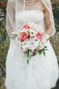 paper flower bouquet // photo by Love Katie + Sarah