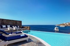 Suite with Private Pool - Petasos Beach Resort & Spa in Mykonos Island, Greece |   One of my goals!