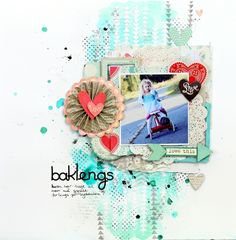 Baklengs *My Creative Scrapbook* by Umenorskan @Kari Jones Jones Jones alissa Peas in a Bucket