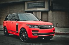 Platinum Motorsport Official Blog » PLATINUM MOTORSPORT presents 2013 MATTE RED RANGE ROVER