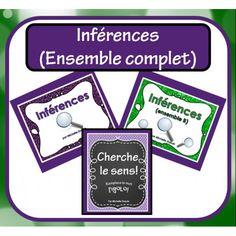 Inférences (ENSEMBLE COMPLET)