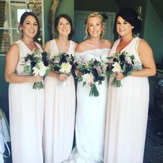 Clare & Bridesmaids at The Bell in Ticehurst