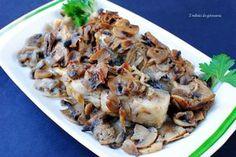 Karp w pieczarkach Karp, Cinnamon Rolls, Stuffed Mushrooms, Chicken, Meat, Vegetables, Food, Stuff Mushrooms, Cinammon Rolls