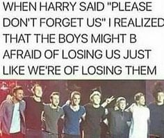 """Please don't forget us."" That just hit me hard, I don't know why. I don't think i'll be able to forget them in my lifetime tbh."