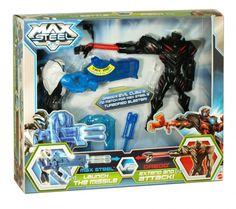 Max steel vs dredd toy figure playset