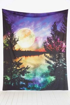 Moon Lake Tapestry Throw. Loving it.  #urbanoutfitters