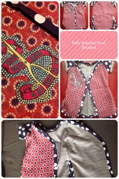 Sneak preview on the next eco baby garment project | Pepperbox Couture