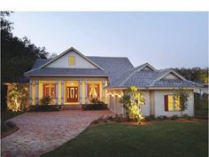 This week's featured plan, HWEPL06490, has country good looks and a functional one-story layout. See photos of the interior at http://www.eplans.com/house-plans/epl/hwepl06490.html