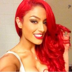Eva Marie <3 THIS is what I want to do with my hair