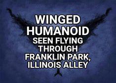 Mothman Sightings, Bigfoot Sightings, Franklin Park, Unexplained Phenomena, Dark Men, Phantom, Unbelievable Facts, Interactive Map, Monster