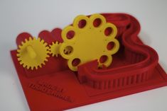 printed marble machine delivers complex design in a simple package 3d Printing Companies, 3d Printing News, 3d Printing Business, 3d Printing Service, Printing Process, Tool Design, Design Process, Modele Impression 3d, Color 3d Printer