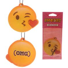 Emotive Blowing Kisses Shaped Cherry Scented Air Freshener  ​Dimensions: Height 7.5cm Width 7.5cm Depth 0.1cm  Delivery prices available on checkout