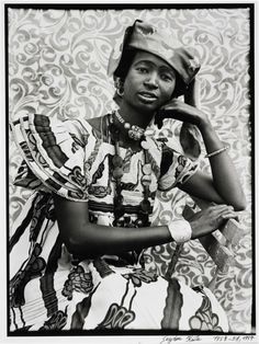 Untitled, c. 1957 Silver gelatin print, from original negative x inches x cm) Courtesy of Minneapolis Institute of Arts, Gift of Frederick B. Seydou Keita, Dune, Camisole, African Art, African History, Great Photographers, West Africa, Popular Culture, Dark Skin