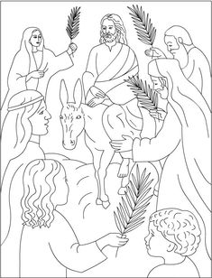 Samaritan Woman Coloring Page- where Jesus doesn't look