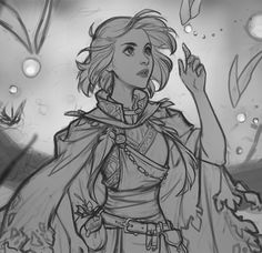 All prepped for Industry Workshops! Will be colouring up this girl live on Friday morning. Come say hi if any of you will be there:) All credit goes to the artist. Inspiration Drawing, Character Design Inspiration, Art Sketches, Art Drawings, Drawing Faces, Cartoon Drawings, Half Elf, Character Drawing, Character Sketches
