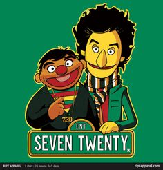 Bert and Ernie / Tom and Jean-Ralphio. Parks and Recreation.
