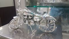 Silver bike Silver Jewellery, Telugu, Jewelry Design, Bike, Pearls, Photos, Bicycle, Pictures, Beads
