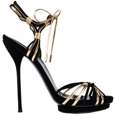 GUCCI Andrew Sandals ($440) ❤ liked on Polyvore