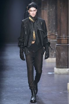 Ann  Demeulemeester Autumn/Winter 2011 Menswear