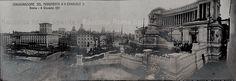 Piazza Venezia. Inaugurazione del Monumento a Vittorio Emanuele II Anno: 4 giugno 1911