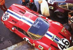 Elite Dino 246 GT - Le Mans 1972 NART New Ferrari, Ferrari Racing, Sports Car Racing, Race Cars, Le Mans, James Hunt, Cars And Motorcycles, Automobile, Vehicles