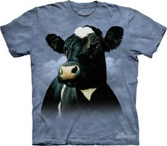 The Mountain - Cow T-Shirt - MD, $20.00 (http://shop.themountain.me/cow-t-shirt-md/)