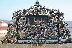 Love locks in Prague.........Prague Love Shoot with Monika Caban