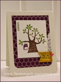 Stampin Up!, Birthday, Child, Bestfriend, Opposum, Der Wald ruft, Nuts about you, Tree,