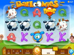 Baloonies Farm is the sequel to the first Baloonies online slot from IGT. Fun and full of features, play now at our top rated casino sites in Australia Casino Sites, Online Casino, Igt Slots, College World Series, Slot Machine, Spinning, Volleyball, Wordpress, Free