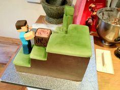 Minecraft Themed Cake - Imgur
