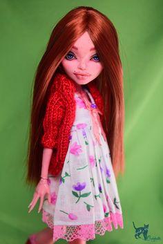 OOAK Monster High Repaint Doll Custom Gigi Grant | eBay
