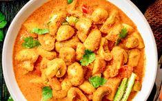 """Champignons In Pittige Curry is een traditioneel Indiaas gerecht uit de streek Odisha. De lokale naam is """"Odia Chatu Besara"""""""