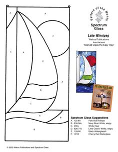 Stained Glass Patterns for FREE 024 Sailboat.jpg