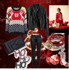 """CHRISTMAS"" by onedirectionhoroscope on Polyvore"