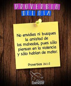 #ProverbioDelDía Proverbios 24:1-2  Gracias Señor, mi Dios por revelarme con quien compartir mi mesa.