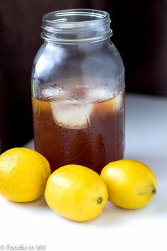 An easy recipe for iced tea that uses fresh herbs. A nice way to use lemon mint (lemon balm) that is very refreshing.