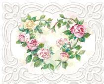 Rose Wreath Note Cards