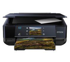 Der mit WLAN und Ethernet-Port ausgestattete Multifunktionsdrucker Expression Premium XP-750 von Epson ist Drucker, Scanner und Kopierer zugleich.