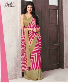 - Platform for Women Indian Wedding Outfits, Indian Outfits, Georgette Sarees, Printed Sarees, Women Empowerment, Business Women, Print Design, Sari, Fancy
