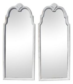 Lane Mahogany Mirrors, Pair | Against the Wall | One Kings Lane