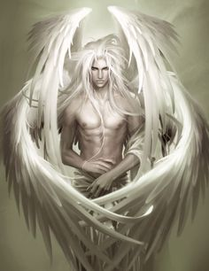 ZELUS (Zelos) - The god of rivalry and competition. He was one of four winged Daemones who guarded the throne of Zeus. [The angel by heise]